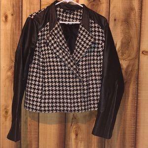 Women's blazer checkered